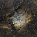SH-86/NGC6820/NGC6823 – 2019 (HST Palette),                                Kirk