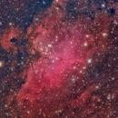 M16 The Eagle Nebula,                                Djt