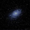 M33 the Pinwheel Galaxy  Old School,                                RonAdams