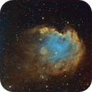 Monkeyhead Nebula SE London + Full Supermoon,                                  Carastro