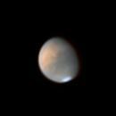 Mars @26° Altitude 08/08/2020 22:53 UTC,                                Falk Schiel