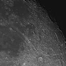Moon, sunrise South Pole, 2 Luglio 2020,                                Ennio Rainaldi