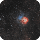 M20 - The Trifid Nebula With M21 Open Cluster,                                StuartJPP
