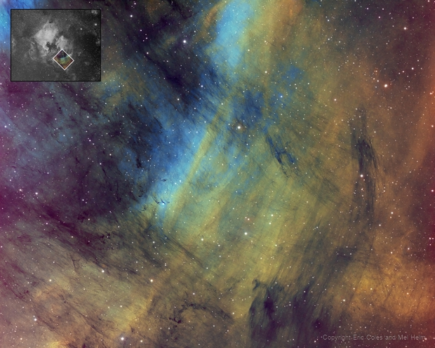 IC5068 Hubble Palette with Insert,                    Eric Coles (coles44)