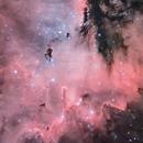 PacMan (NGC281) in Ha-RGB (crop),                                pete_xl