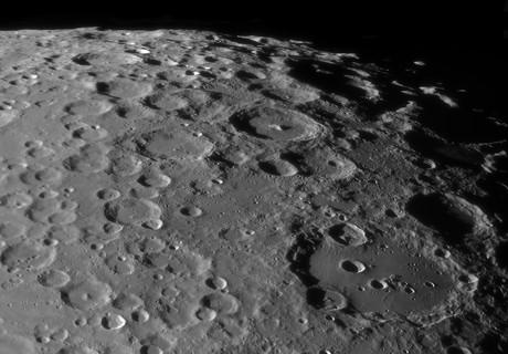 High Resolution Moon Mosaic (15 panel),                                Henning Schmidt
