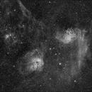 Ha Extract IC405 IC 410 IC 417 area,                                Scotty Bishop