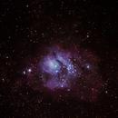 Messier 8 - Lagoon nebula,                                Gerald Kerschbaumer