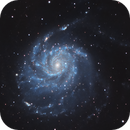 M101, The Pinwheel galaxy,                                Carlumba93