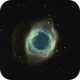 The Helix Nebula in the Hubble Palette,                                 degrbi