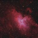 Eagle Nebula Messier 16 in HaLRGB,                    Maciej