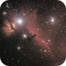 Horsehead and Flame Nebulae,                                PapaMcEuin