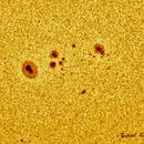 The very small AR 11909 of December 3, 2013.,                                Gabriel - Uranus7