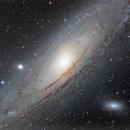 M31 HaLRGB with DSLR,                                Xplode