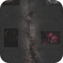 Summer Milky way with DSO's,                                Robert Huerbsch