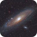 Andromeda Galaxy M31 Using Colour Triband,                                AstroPhotoRoss