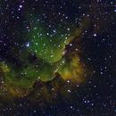 NGC7380 Wizard nebula,                                Klaus Weisensee