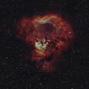 NGC 7822 Diffuse Nebula 20200921 21360s HOO 03.8.4,                                Allan Alaoui