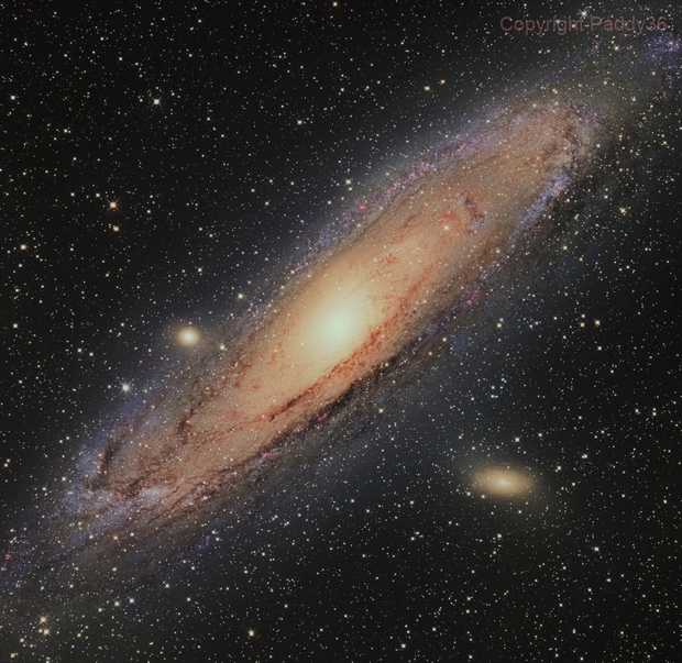 M31 mixed DSLR, CCD,                                paddy36