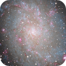 M33 galaxy close-up, unguided.,                                Juan Pablo (Obser...