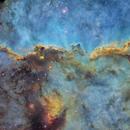 Mosaic of NGC6188,                                Philippe BERNHARD