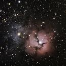 M 20 - Trifid Nebula,                                Doug_Bock