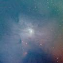 Rho Ophiuchi Nebula,                                James R Potts