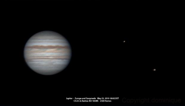 The second Jupiter of the season,                                Dominique Callant