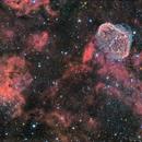 Crescent and Soap Bubble Nebula,                                Juan B. Torre Valle