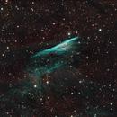 Herschell's Ray / Pencil Nebula (OSC and Ha from mono),                                KiwiAstro
