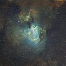 M17 in Hubble Palette,                                Terry Hancock