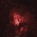 M17 Omega Nebula,                                Paweł Radomski