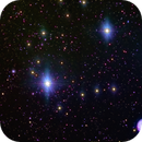 Surfboard Galaxy and Owl Nebula,                                Mark Bailey