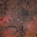 DSLR HaRGB - IC1396,                                Arno Rottal