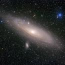 M31 - Andromeda Galaxy,                                sharkmelley