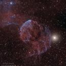 Jellyfish Nebula HAOIIIRGB with DSLR,                                Markus Bauer