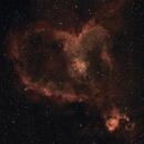 The Heart and Fish-Head Nebula,                                Pete Geanacopulos