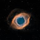 Helix Nebula Narrowband,                                Aaron Freimark