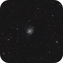 M101, The Pinwheel Galaxy,                                Vlaams59