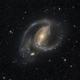 NGC 1097 Spiral Galaxy,                                Miles Zhou