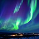 Aurora Borealis - Kiruna, Sweden,                                Bruce Rohrlach