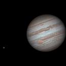 Jupiter, Io and Ganymede,                                Andrea Vanoni