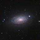 M63 Sunflower Galaxy (CVn) in LRGB,                                Ben Koltenbah