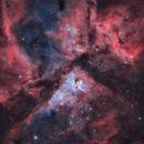 Carina Nebula Blended SHO & LRGB,                                Tom Peter AKA Astrovetteman