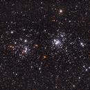 Double Cluster h & chi Persei (NGC884 & NGC869) - 2021,                                Kurt Zeppetello