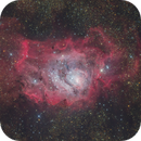 M8 Lagoon Nebula (new process version),                                Toshiya Arai