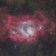 M8 Lagoon Nebula (new process version),                                Toshiya Arai