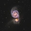 M51 - Whirlpool Galaxy,                                Yizhou Zhang