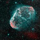 NGC 6888 HOO - Crescent Nebula,                                Ruediger