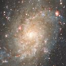 M33 the Triangulum galaxy,                                Deddy Dayag